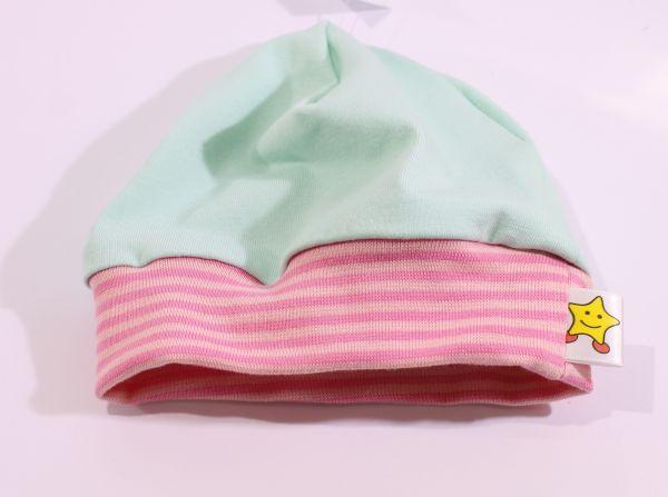 Jersey-Mütze mint 39-43
