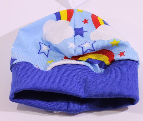Jersey-Mütze Regenbogen 36-38