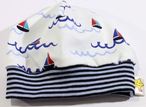 Jersey-Mütze Schiffchen 36-38