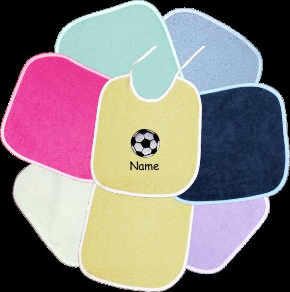 Lätzchen-Fußball