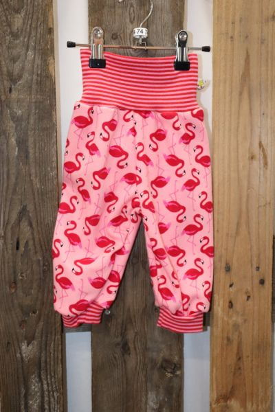Kinderhose Gr. 74 Alpenfleece Flamingo
