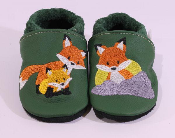Lederpuschen Fuchs