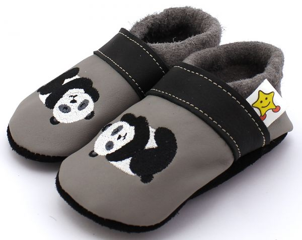 Lederpuschen Panda