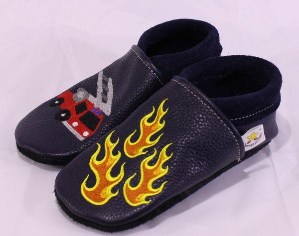 Lederpuschen Feuerwehr