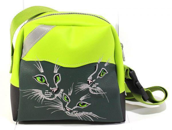 Kita-Tasche Katzenaugen