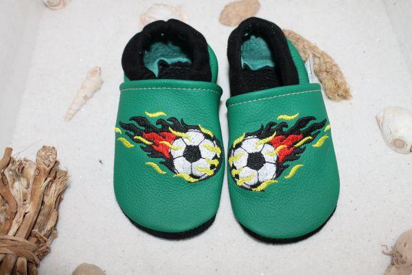 Krabbelschuh mit Softbündchen Fußball EM 2020