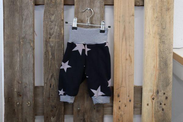Kinderhose Gr. 62 Sterne/blau