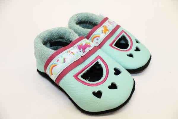 Krabbelschuhe Leder Gr.20 Sandale