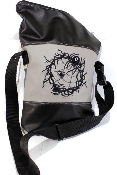 Klapp-Handtasche lang